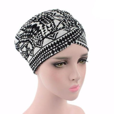 Headscarf-Head wrap-Head covering-Modest Chic-African-head wrap-Black