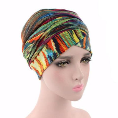 Headscarf-Head wrap-Head covering-Modest Chic-African-head wrap-Multi
