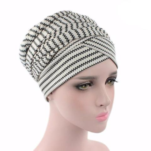 Headscarf-Head wrap-Head covering-Modest Chic-African-head wrap-Striped