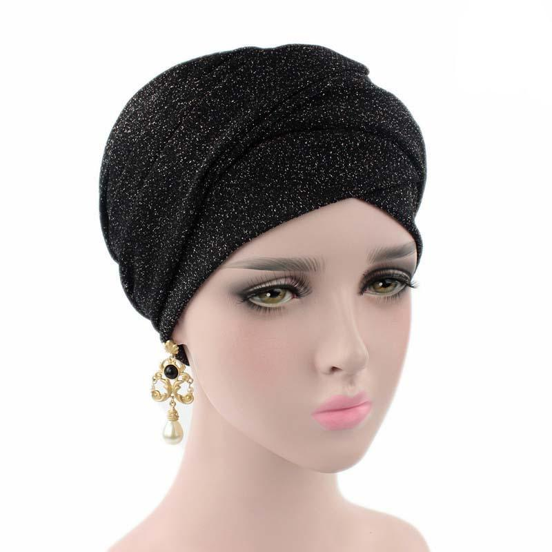 Baby Accessories Modest Knit Headwrap Black