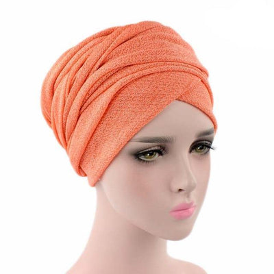 Headscarf, Head wrap, Head covering, Modest Chic, Orange