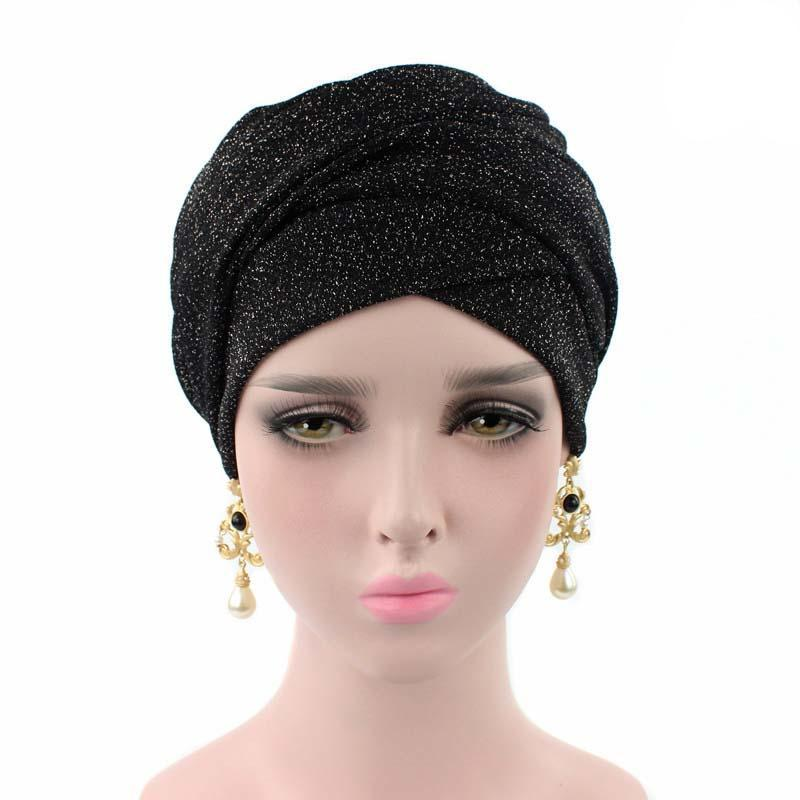 Modest Knit Headwrap Black Baby Accessories