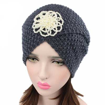 Pearl Flower Turban