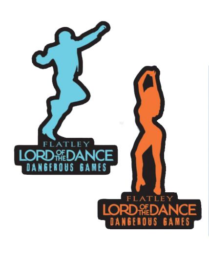 Lord of The Dance Magnets