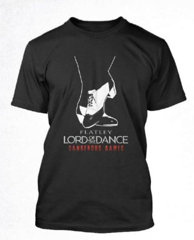 Lord of The Dance (Shoes) Mens Black T-shirt