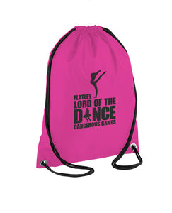 Lord of The Dance (Little Spirit) Pink Gym Bag