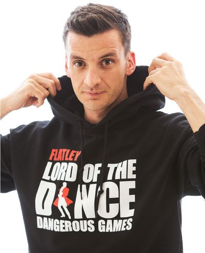 Lord of The Dance (New Logo) Black Hoody