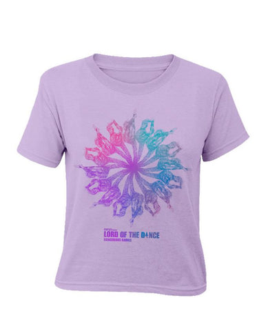 Lord Of The Dance (Little Spirit Flower) Lilac Kids T-Shirt