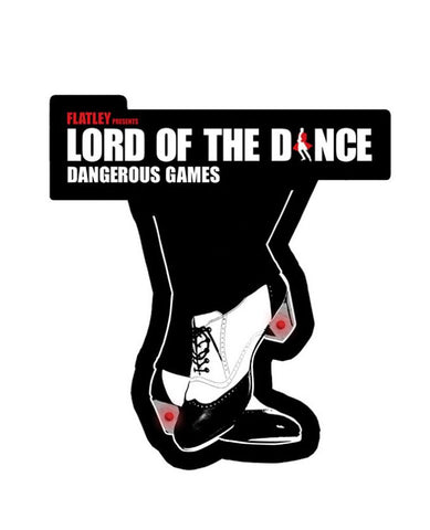 Lord Of The Dance (Shoes) Flashing LED Lights Pin Badge