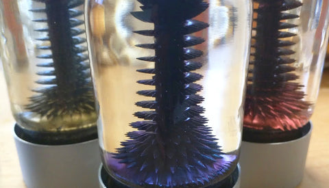 RIZE Spinning Ferrofluid Display