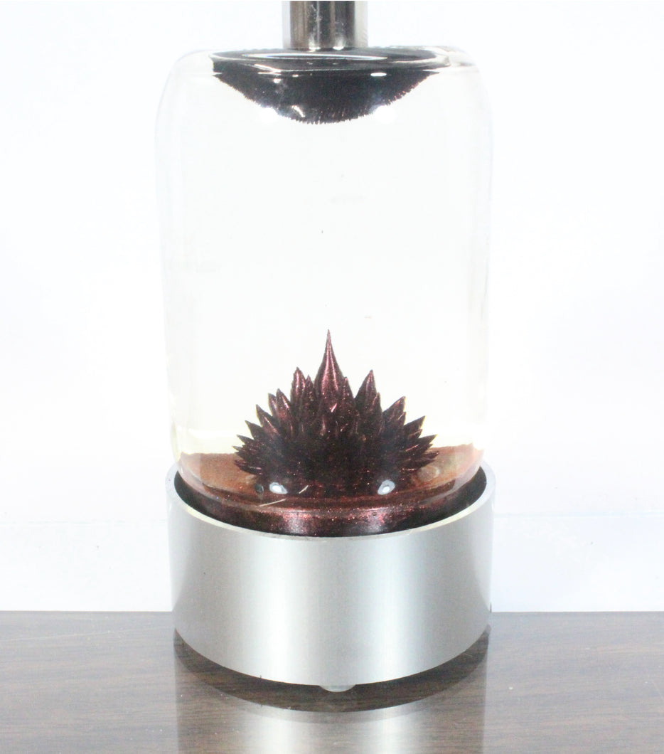 SPIKE ferrofluid display (Red ferrofluid)