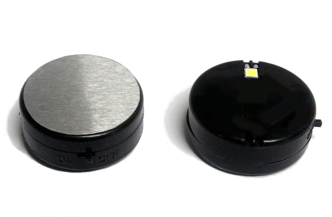 LED light and extra magnet for SPIKE ferrofluid display