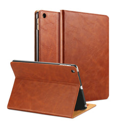 Saddle Brown iPad Air Leather Smart Case