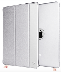 Silver iPad Mini 4 Aluminum Smart Case