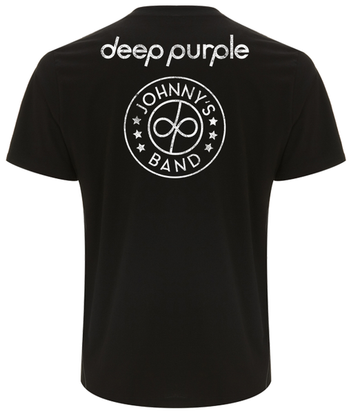 Deep Purple (Johnny's Band) Black T-Shirt