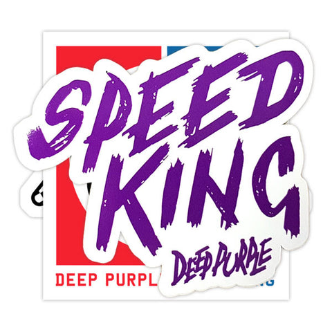 Deep Purple (Speed King) Vinyl Sticker Pack