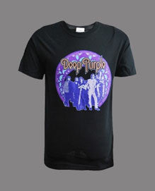 Deep Purple (Frame) Black T-Shirt