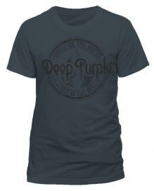 Deep Purple (Fire in the Sky 2015 Tour) Charcoal T-shirt