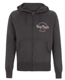 Deep Purple (Smoke/Fire) Dark Heather Hoodie