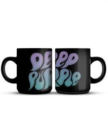 Deep Purple (Logo Bubble) Mug