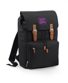 Deep Purple (Logo Bubble) Bag