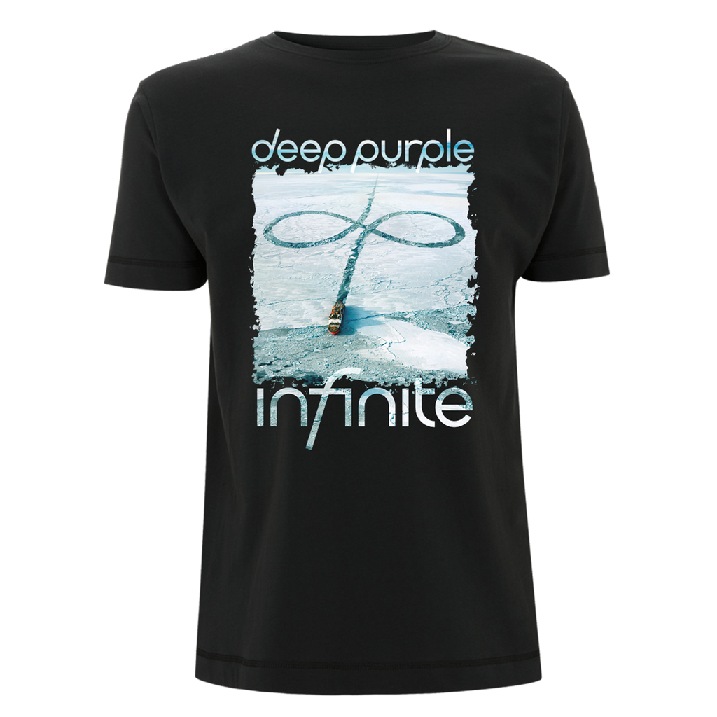 Deep Purple (Infinite UK Tour 2017) Black T-Shirt