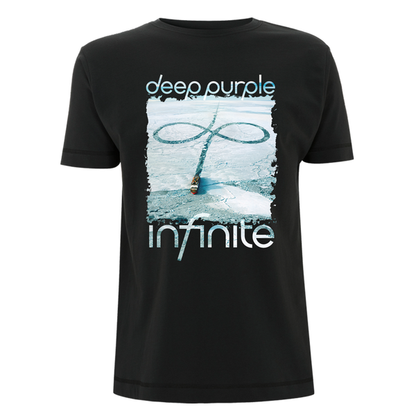 Deep Purple (Infinite European Tour 2017) Black T-Shirt