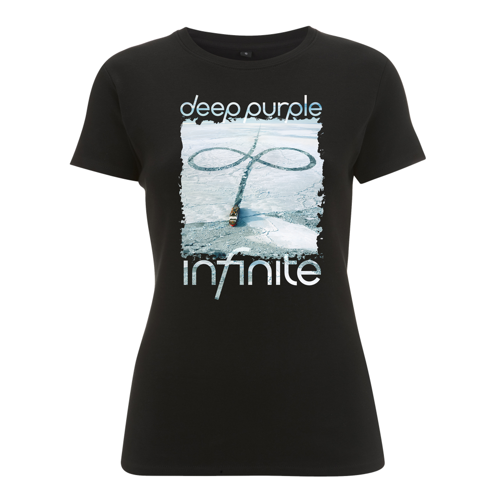 Deep Purple (Infinite UK Tour 2017) Black Ladies T-Shirt