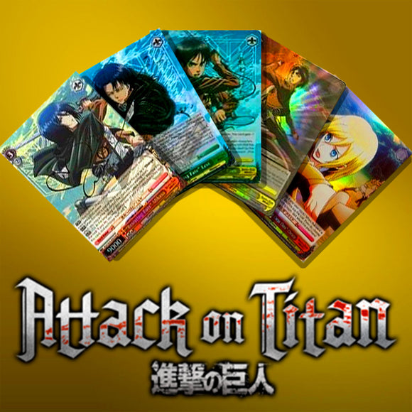 Attack on Titan EN Foils