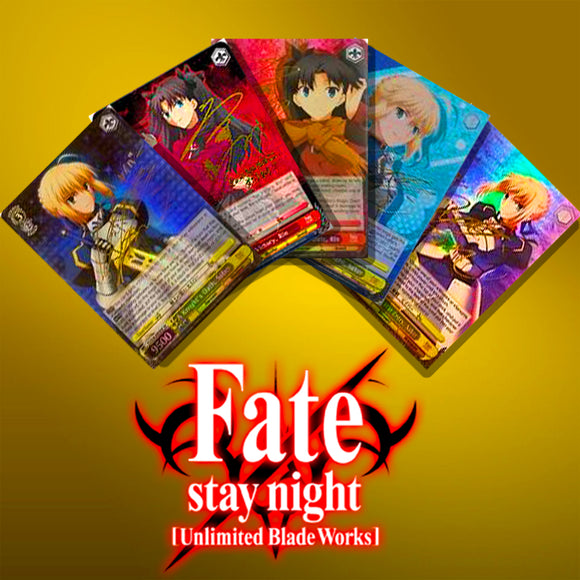 Fate/stay night Unlimited Blade Works EN Foils