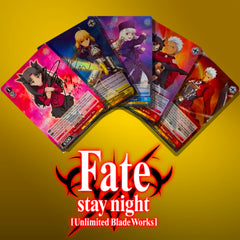 Fate/stay night Unlimited Blade Works Vol. 2 EN Foils