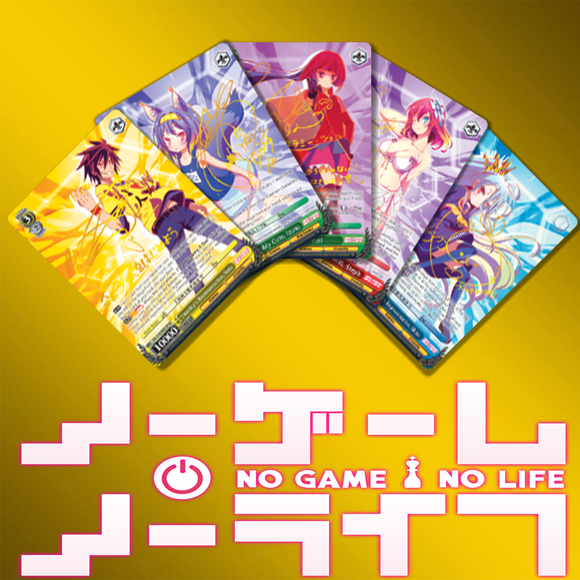 No Game No Life EN Foils