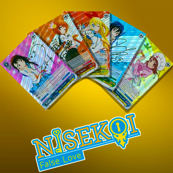 Nisekoi False Love EN Foils