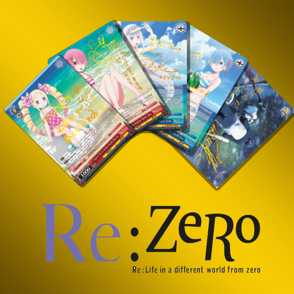 Re:Zero Vol. 2 EN Foils