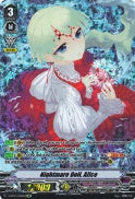 V-BT02/OR04EN Nightmare Doll, Alice (Foil)