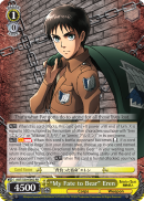 "AOT/S50-E002 ""My Fate to Bear"" Eren"