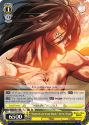 "AOT/S50-E019 ""Sunset on Your Back"" Eren Titan"