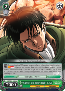 "AOT/S50-E036 ""Sunset on Your Back"" Levi"