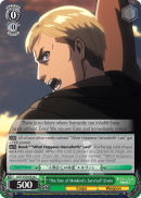 "AOT/S50-E038 ""The Fate of Mankind's Survival"" Erwin"