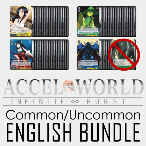 Accel World Infinite Burst EN Common/Uncommon Bundle
