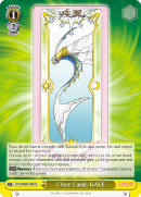 CCS/WX01-029 Clear Card: GALE