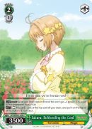 CCS/WX01-042 Sakura: Befriending the Card