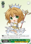 CCS/WX01-102 Mini Sakura: White Dress