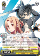 SAO/S51-E007 《Lightning Flash》 Asuna & 《Black Swordsman》 Kirito