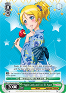 "LL/EN-W02-E020 ""Apple Candy and You"" Eli Ayase"