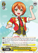 "LL/W24-E008 ""Our LIVE, the LIFE with You"" Rin Hoshizora"