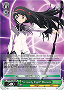 "MM/W35-E028 ""A Lonely Fight"" Homura"