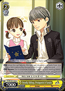 P4/EN-S01-008 Friendly Siblings, Protagonist & Nanako