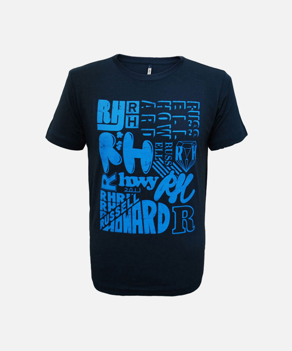 Type Blue T-Shirt