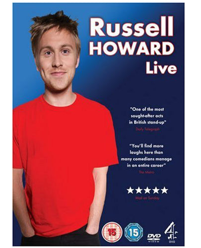 Russell Howard (Live PAL) DVD